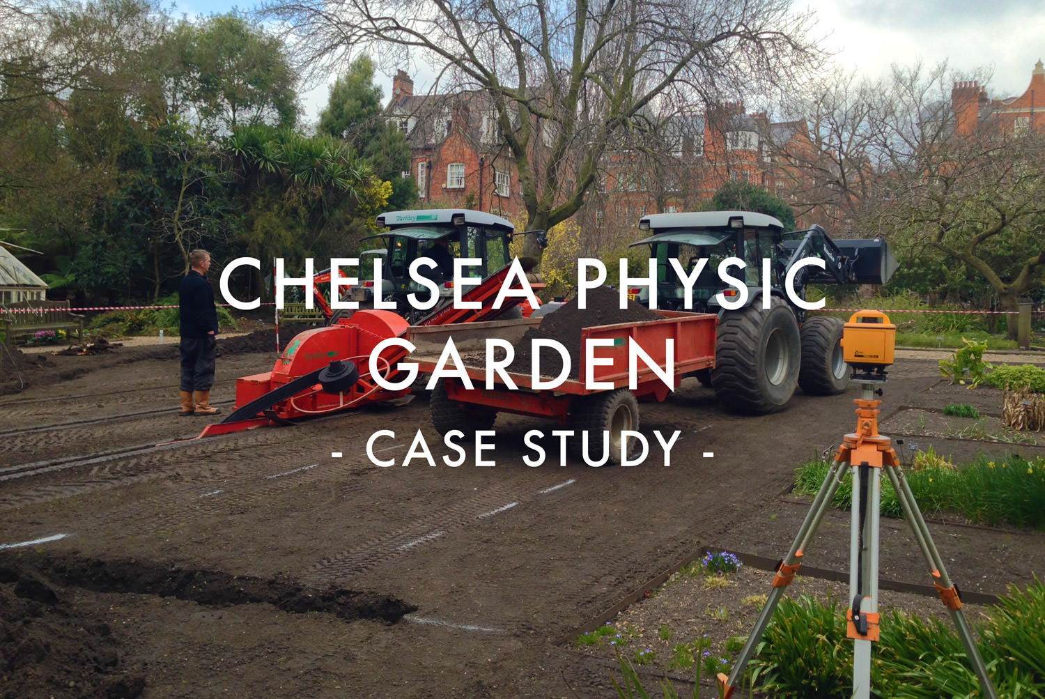 Chelsea Physic Gardens Drainage - Case Study