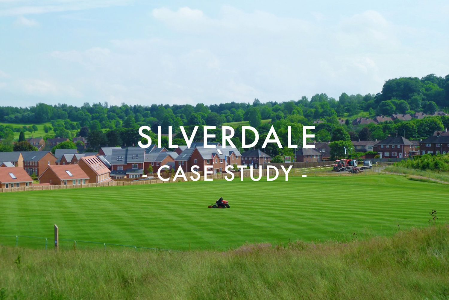 Silverdale Sports Pitch Design & Construction - Case Study