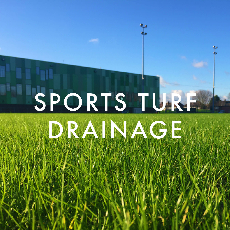 Sports Turf Drainage
