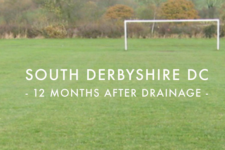 South Derbyshire DC - After Drainage