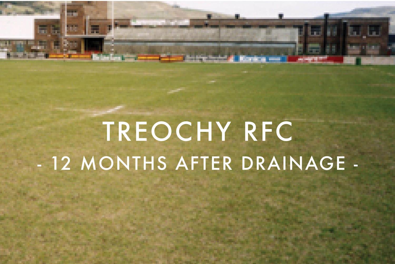 Treochy RFC - After Drainage Installation
