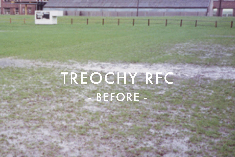 Treochy RFC - Before Drainage