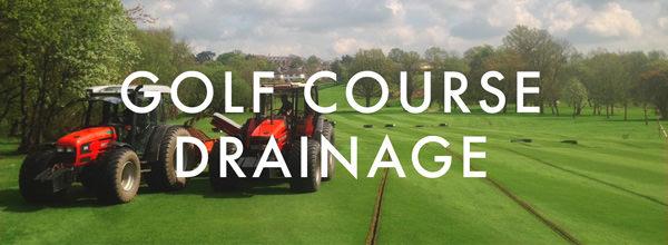 Golf Course Drainage