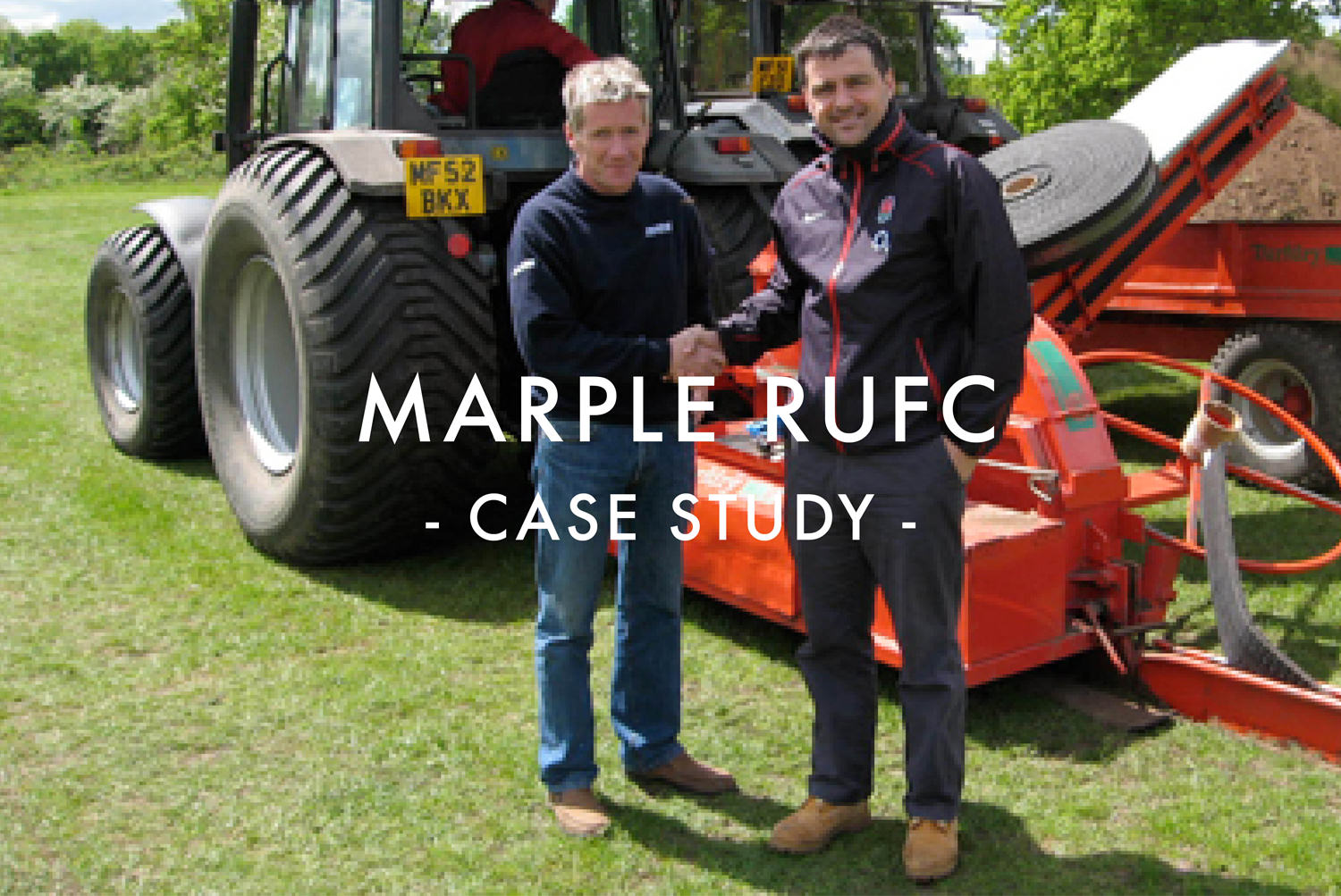 Marple RUFC Rugby Pitch Drainage Case Study