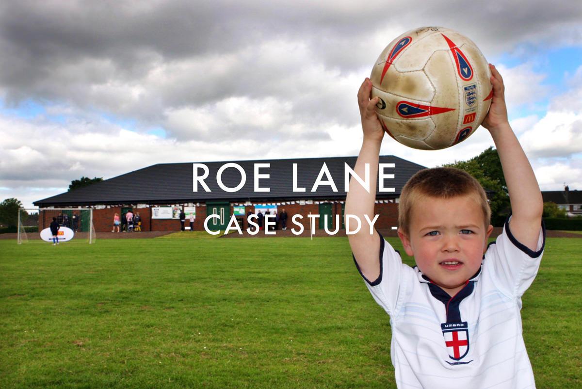 Roe Lane Sports Pitch Drainage Case Study