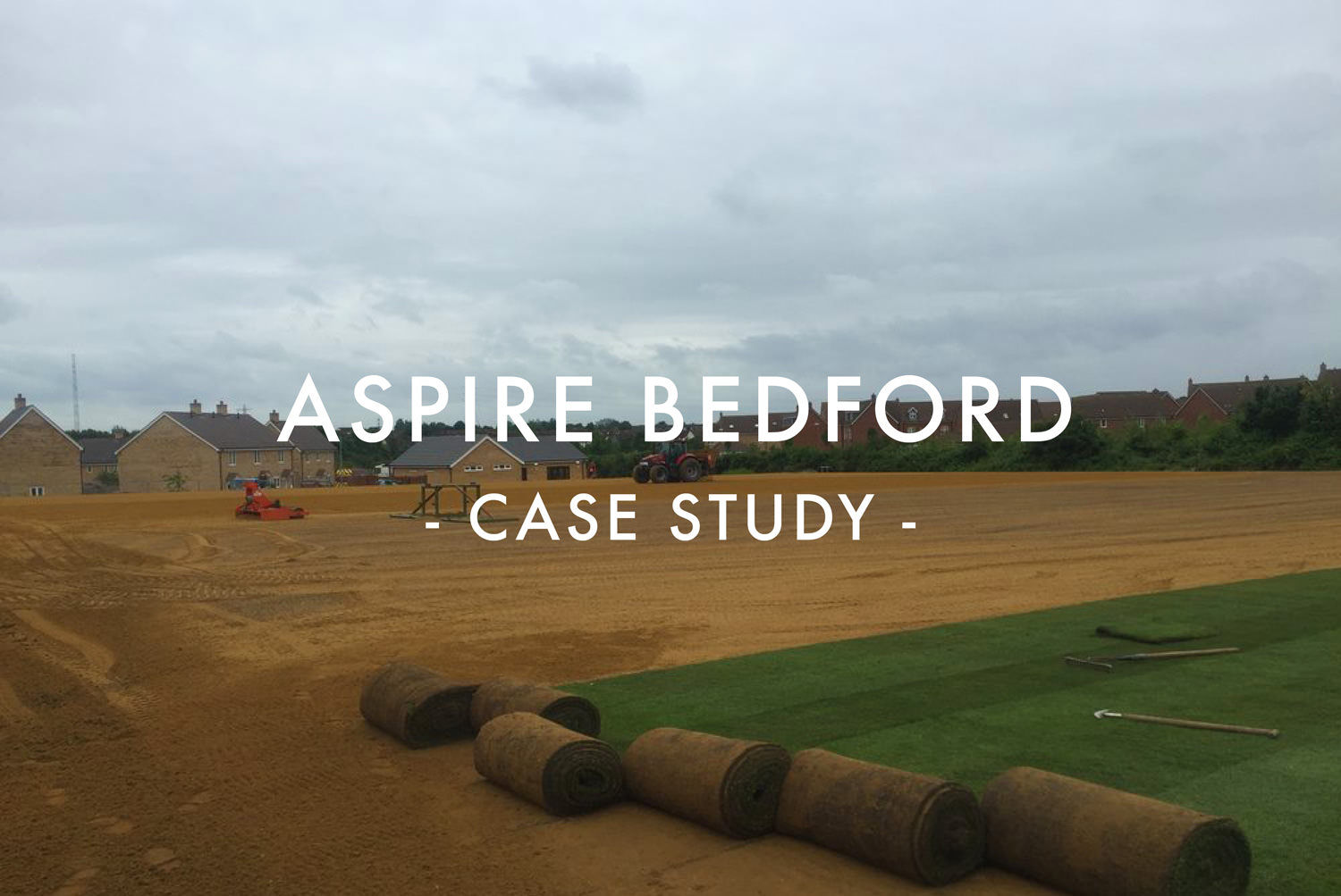 Aspire Bedfore Sports Pitch Construction Case Study