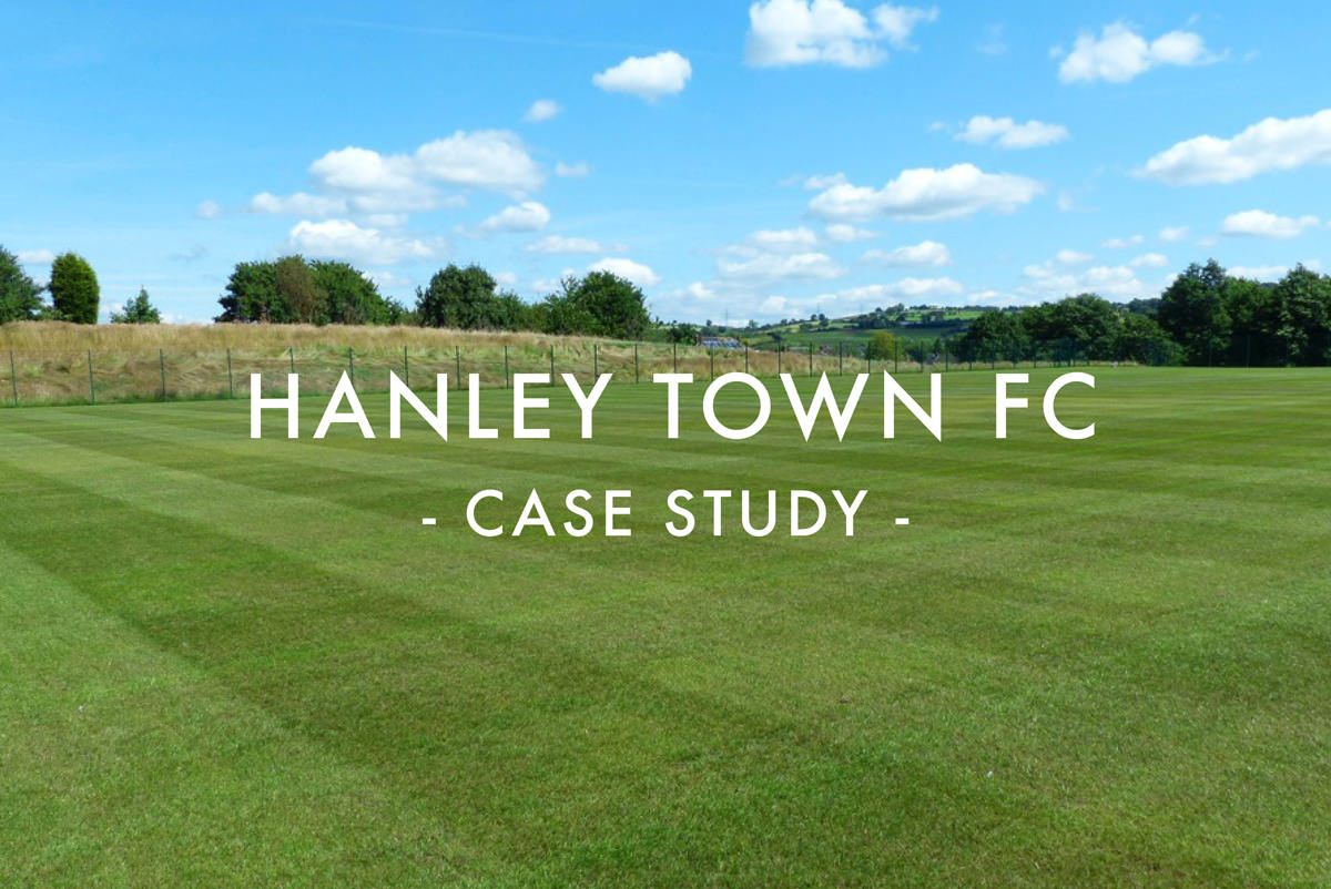 Hanley Town FC Sports Pitch Design & Construction Case Study