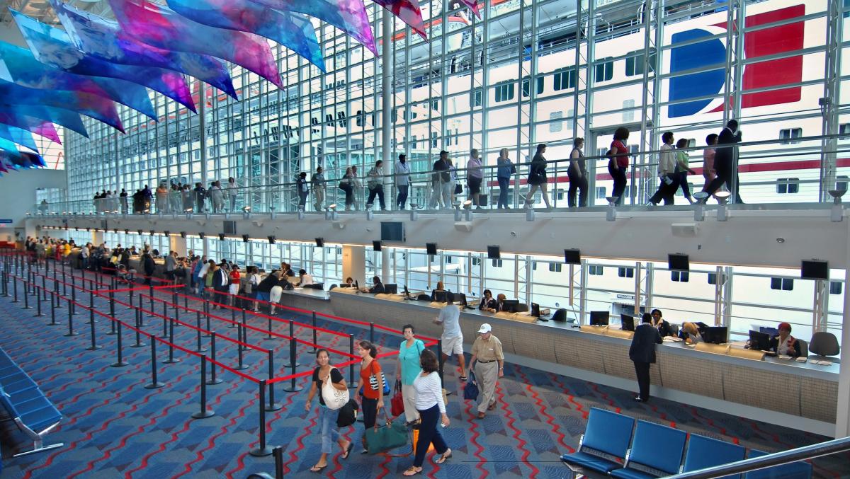 Port Of Miami Cruise Terminal