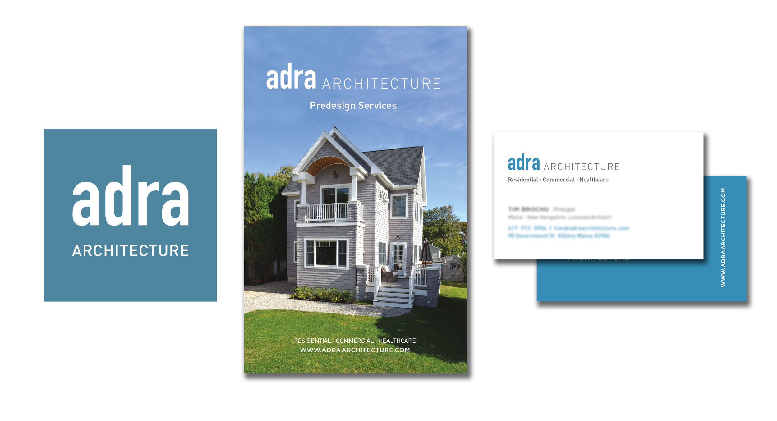 Adra Architecture Identity and Brochure