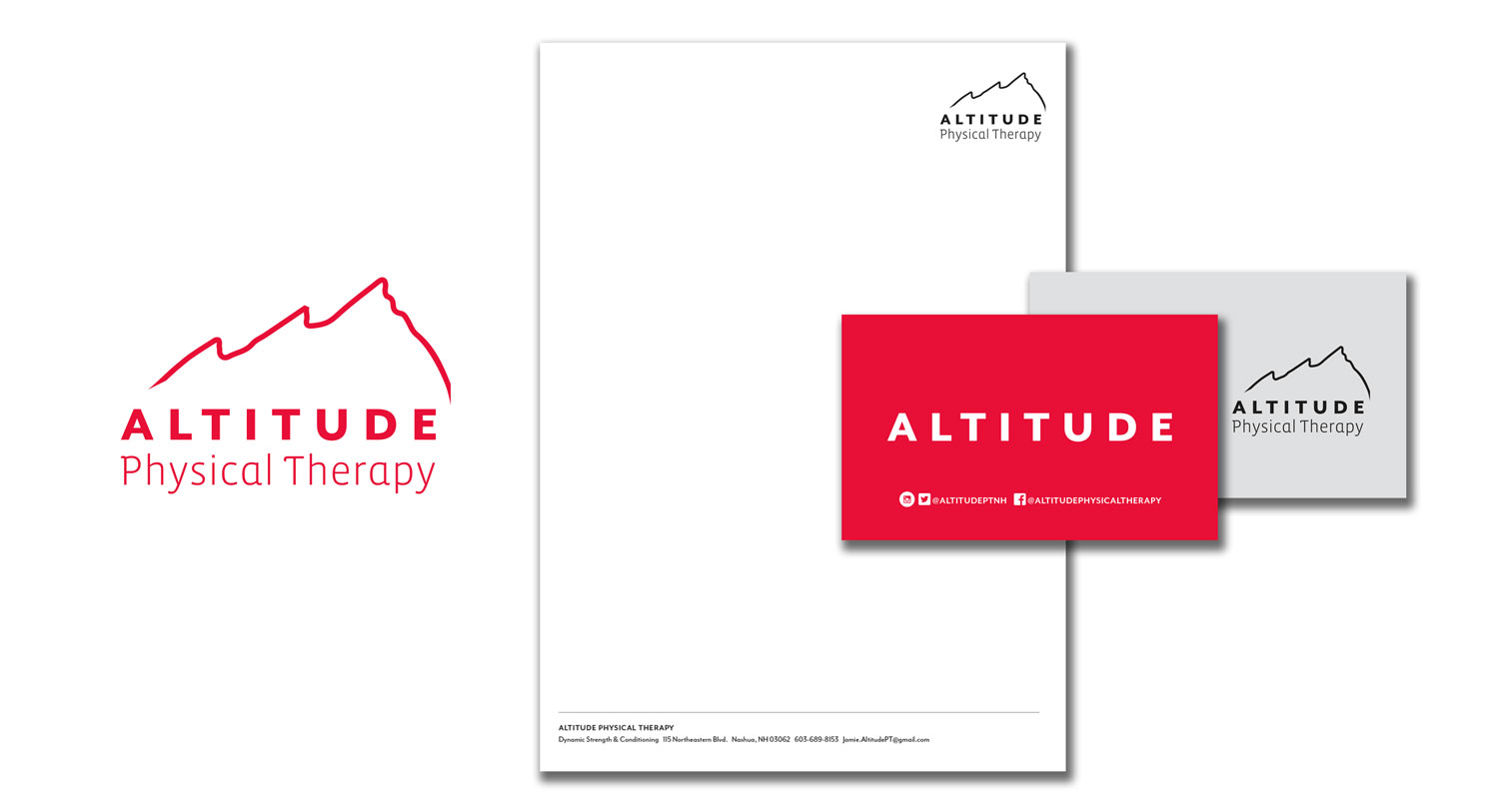 Physical Therapy Logo and Stationery