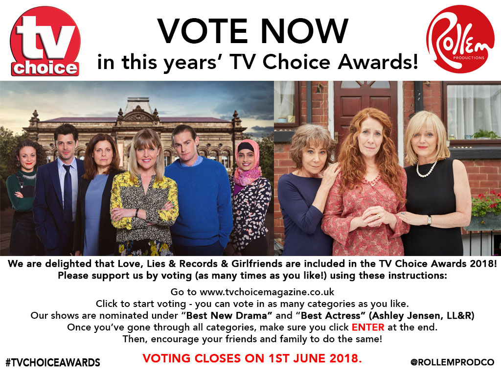 YOU CAN VOTE FOR THE SHOWS  HERE