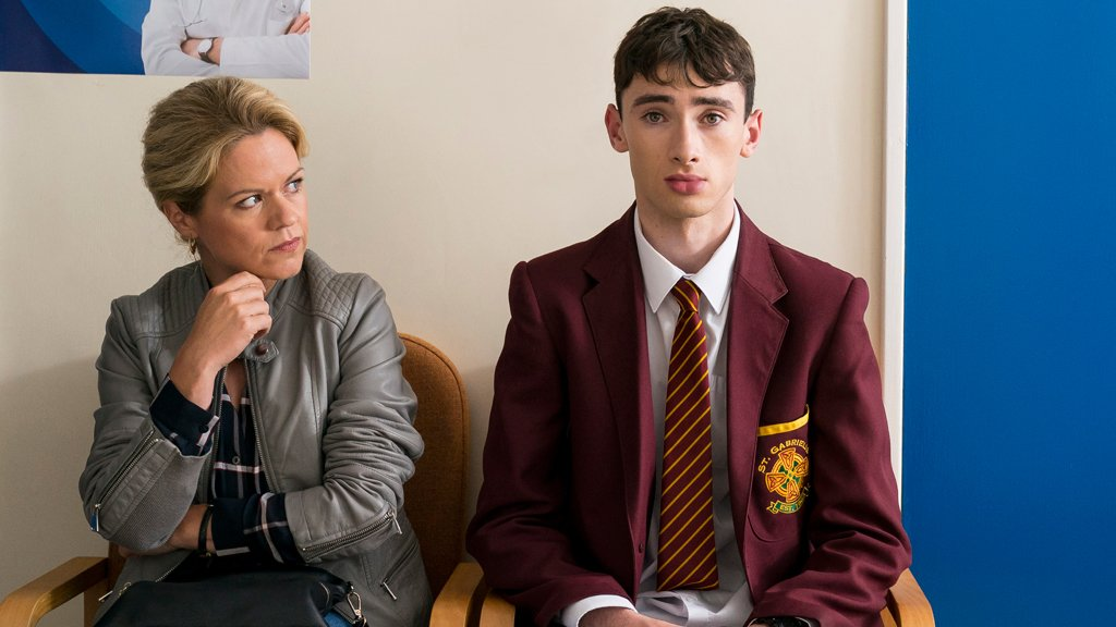 Sinéad Keenan and Nathan Quinn-O'Rawe star in My Left Nut for BBC Three