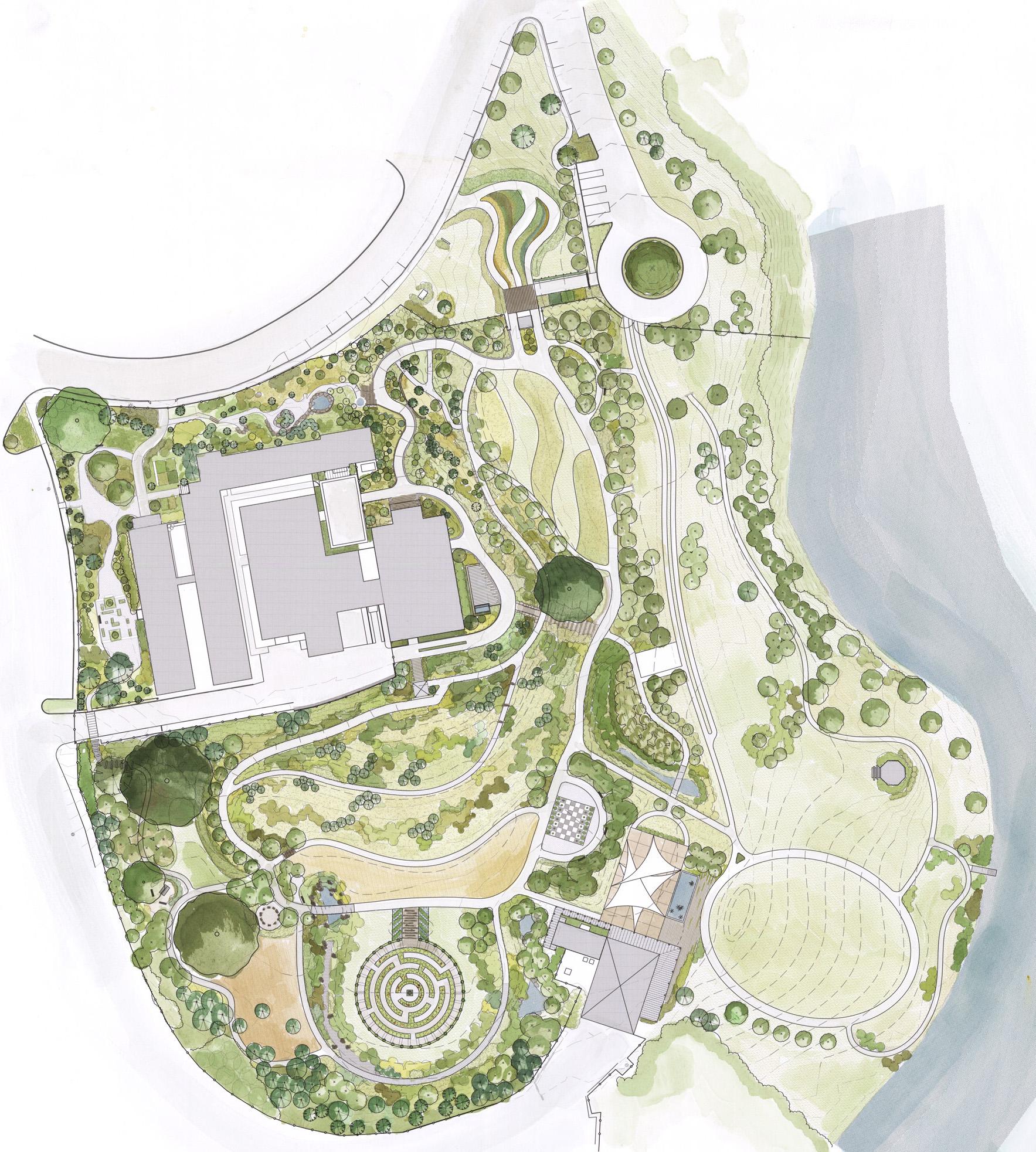 Roger Williams Park Botanical Center Plan