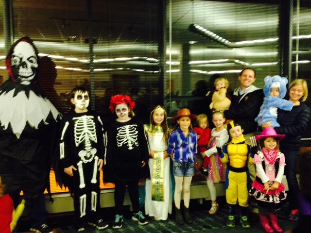 Trunk n' Treat Costume Winners 2014