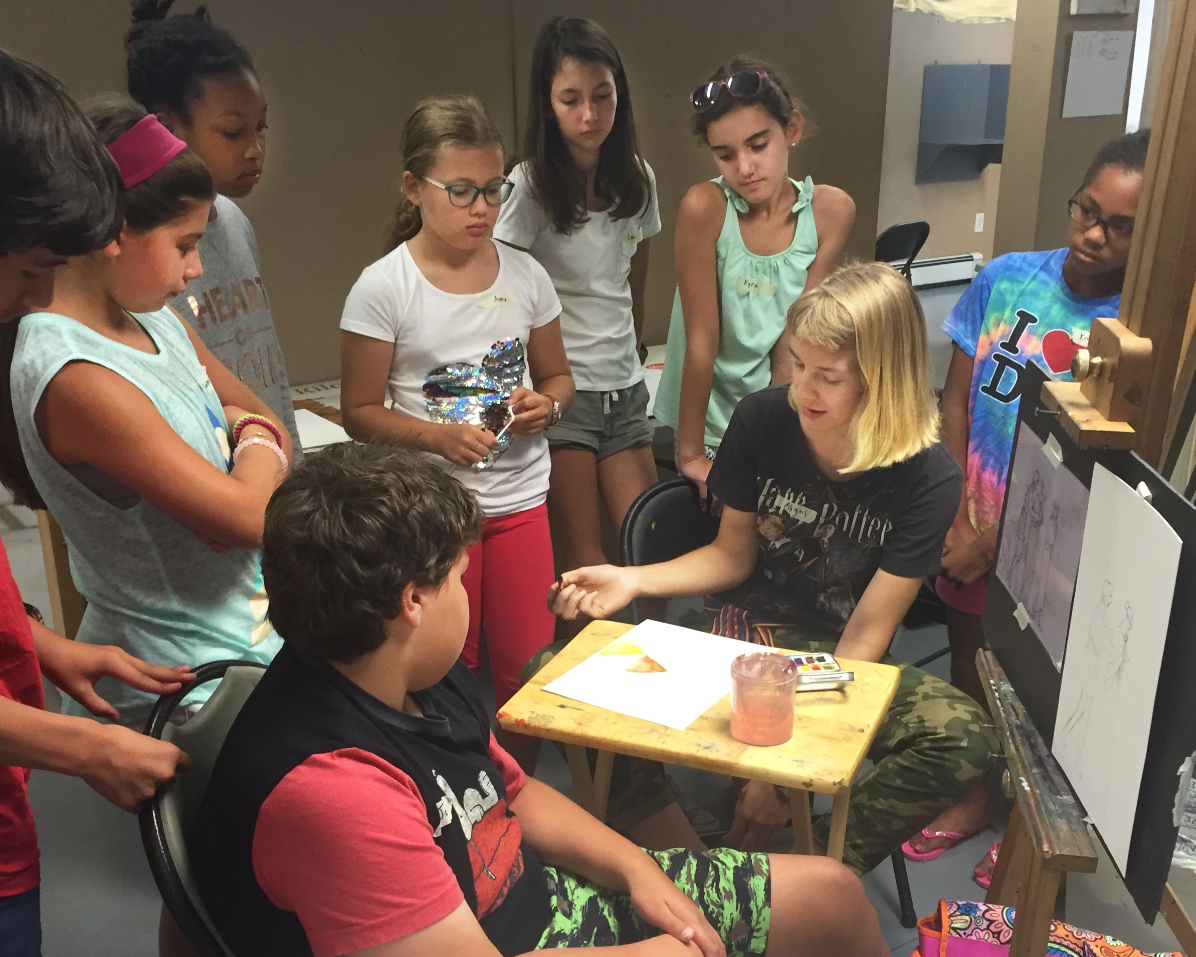 Our Summer Art Camps for Children ages 6-12, and Summer Intensives for Teens teach the same traditional techniques we teach adults, but in an age-appropriate manner.