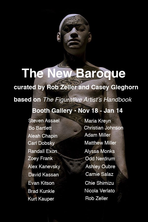 Zeller co-curated The New Baroque with Casey Gleghorn, and featured 21 of the top figurative artists working today.