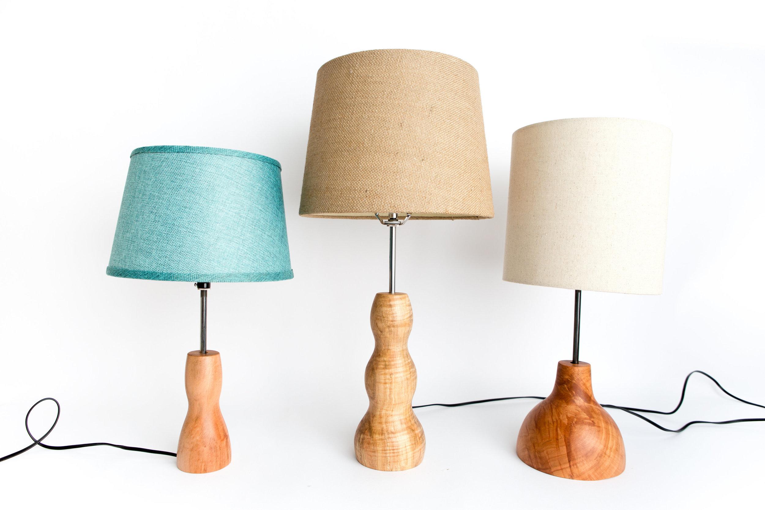 Unique Wooden Lamps