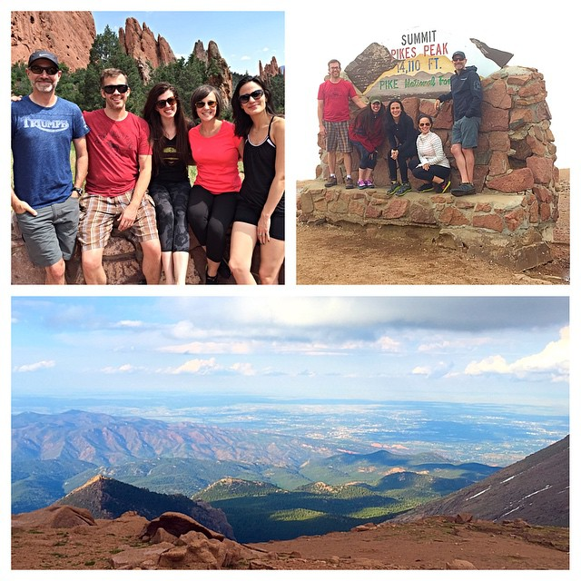 Beautiful day seeing Colorado with friends! The only thing missing was Ryan. :)