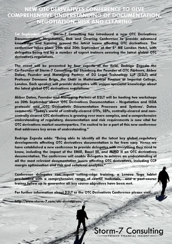 S7C Press Release - 001 - 1st September 2015