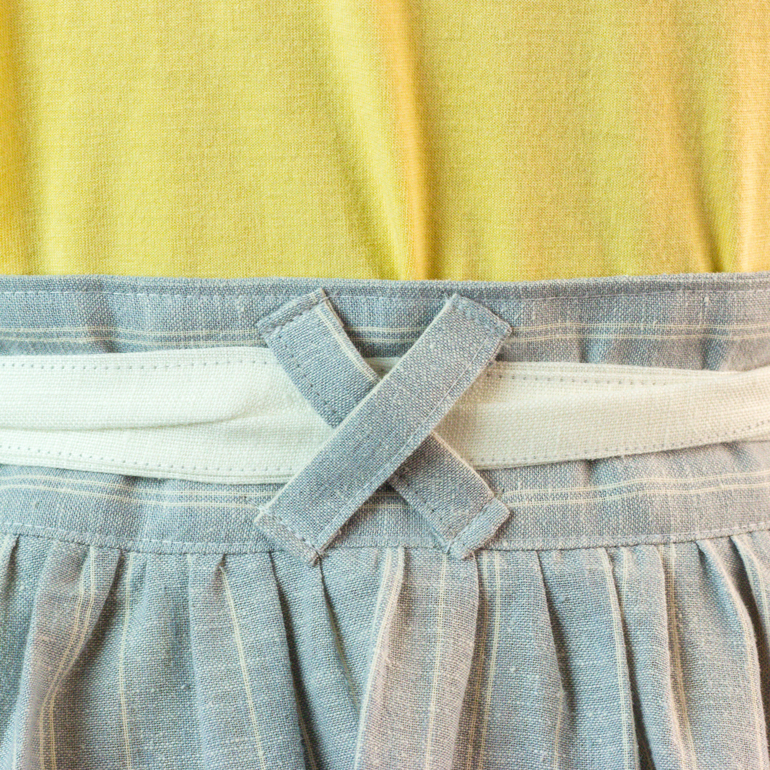 Rayna skirt & Bow pocket tee = the perfect pair