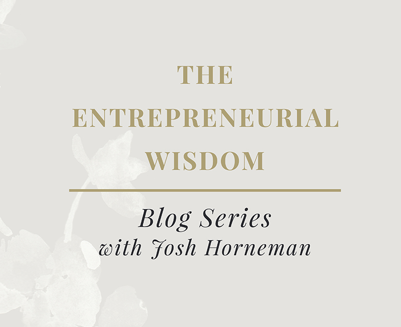 entrepreneurial wisdom enovate marketing and josh horneman