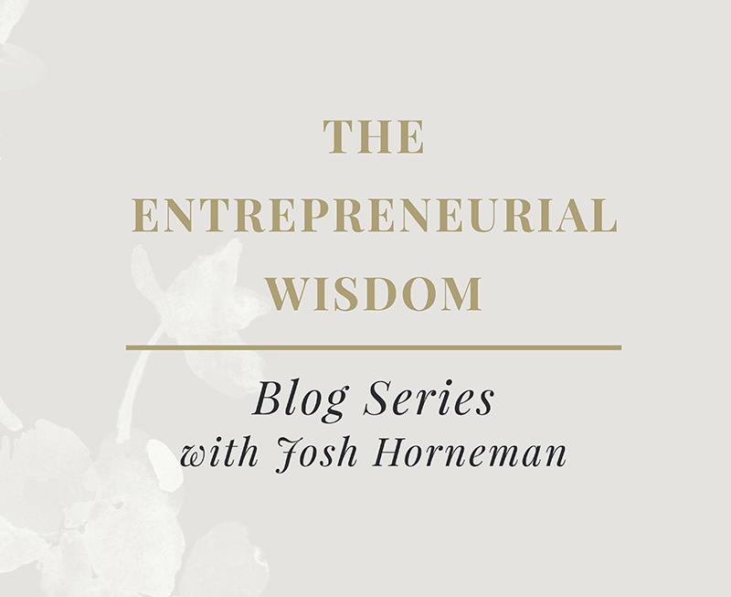 entrepreneurial wisdom enovate marketing and josh horneman