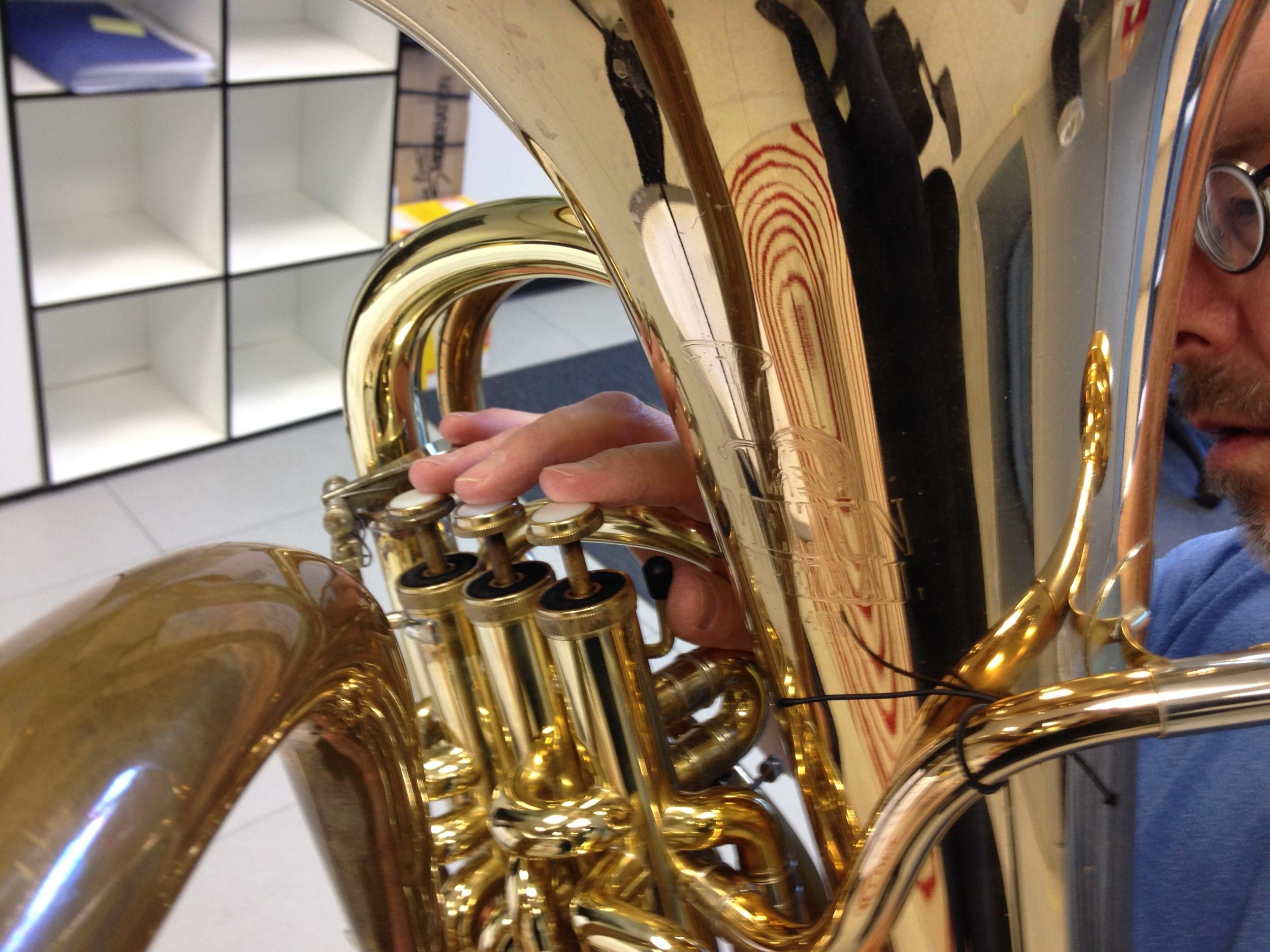 Melyvn Poore, doublebell euphonium