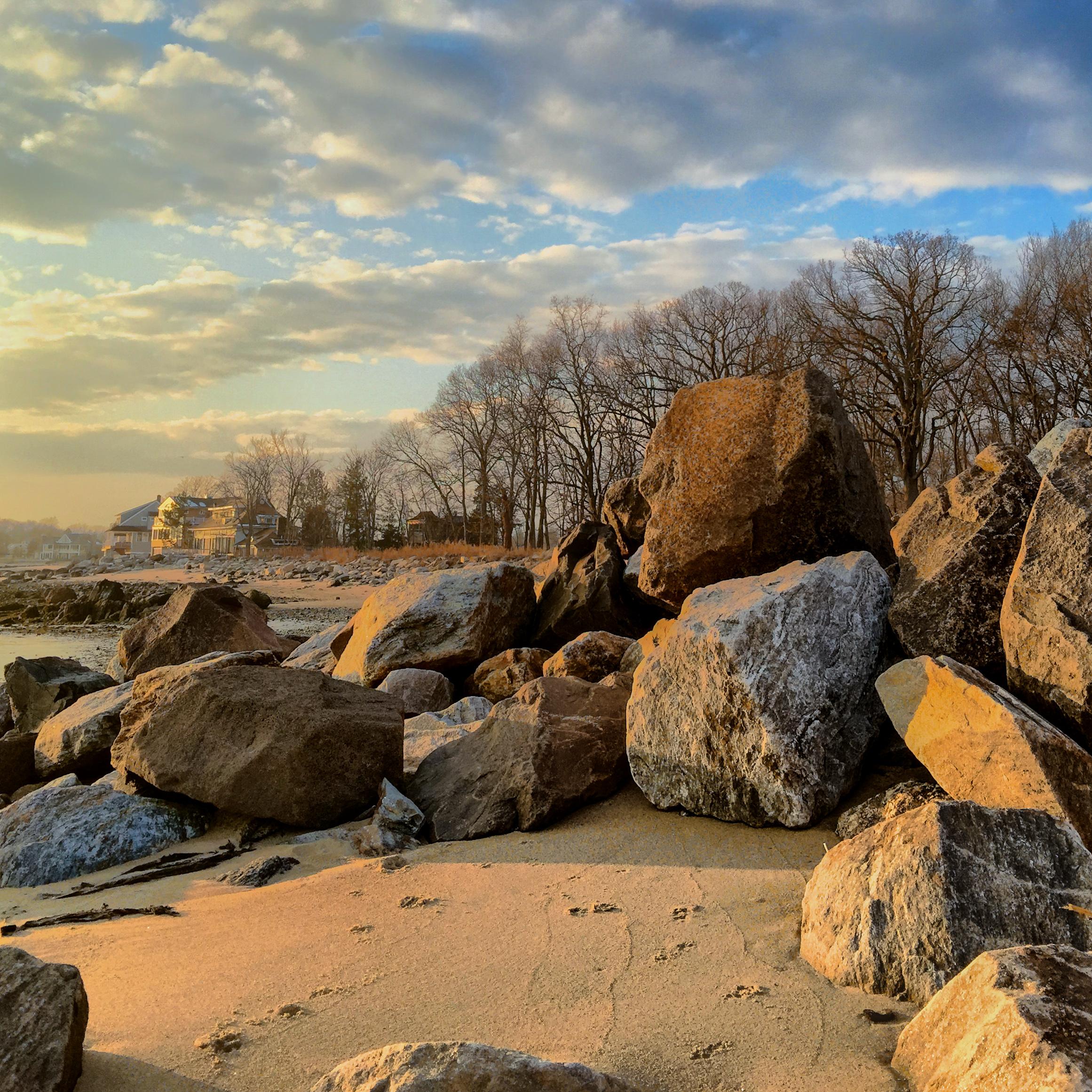 Sands & Rock Sunset Sherwood Island.jpg