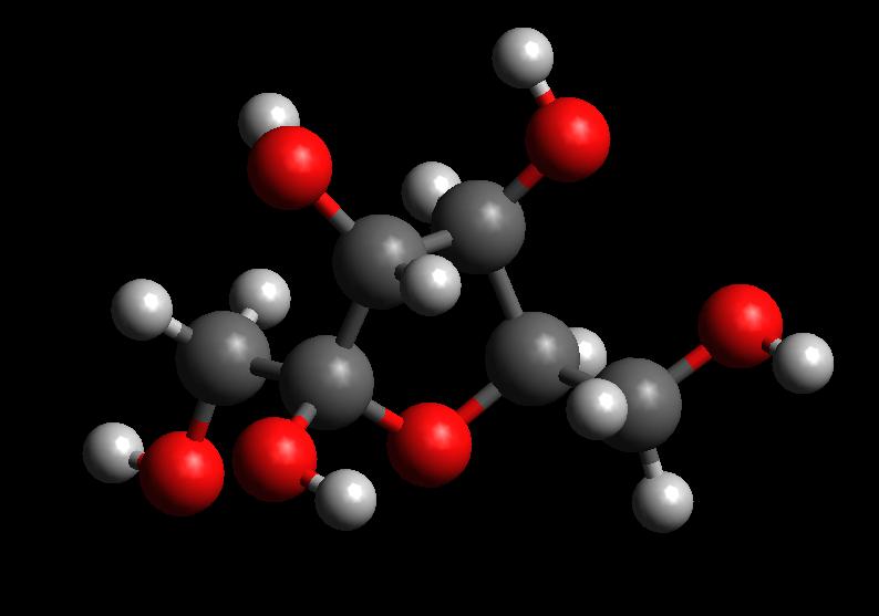 Fructose 3D Model.png
