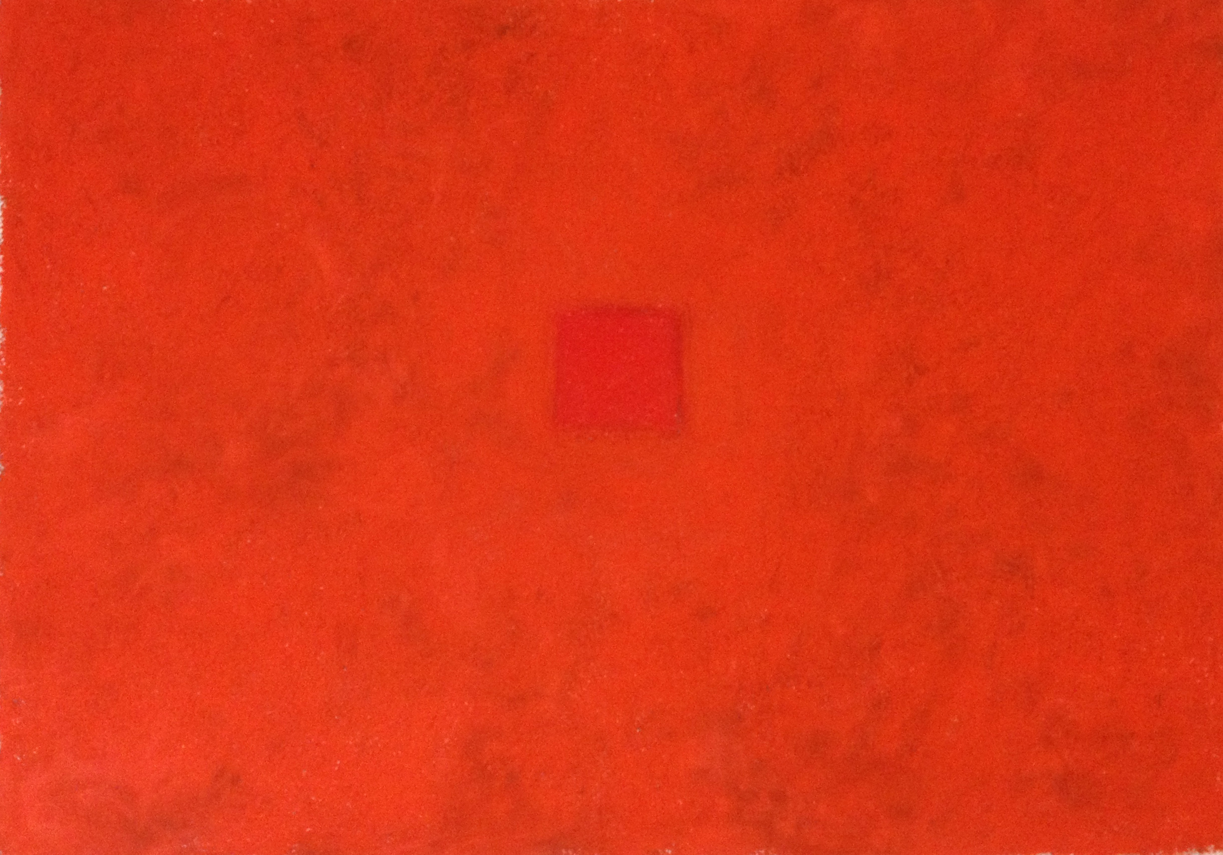 """Red Pools 4  22"""" x 30"""" Pastel on paper 2014"""