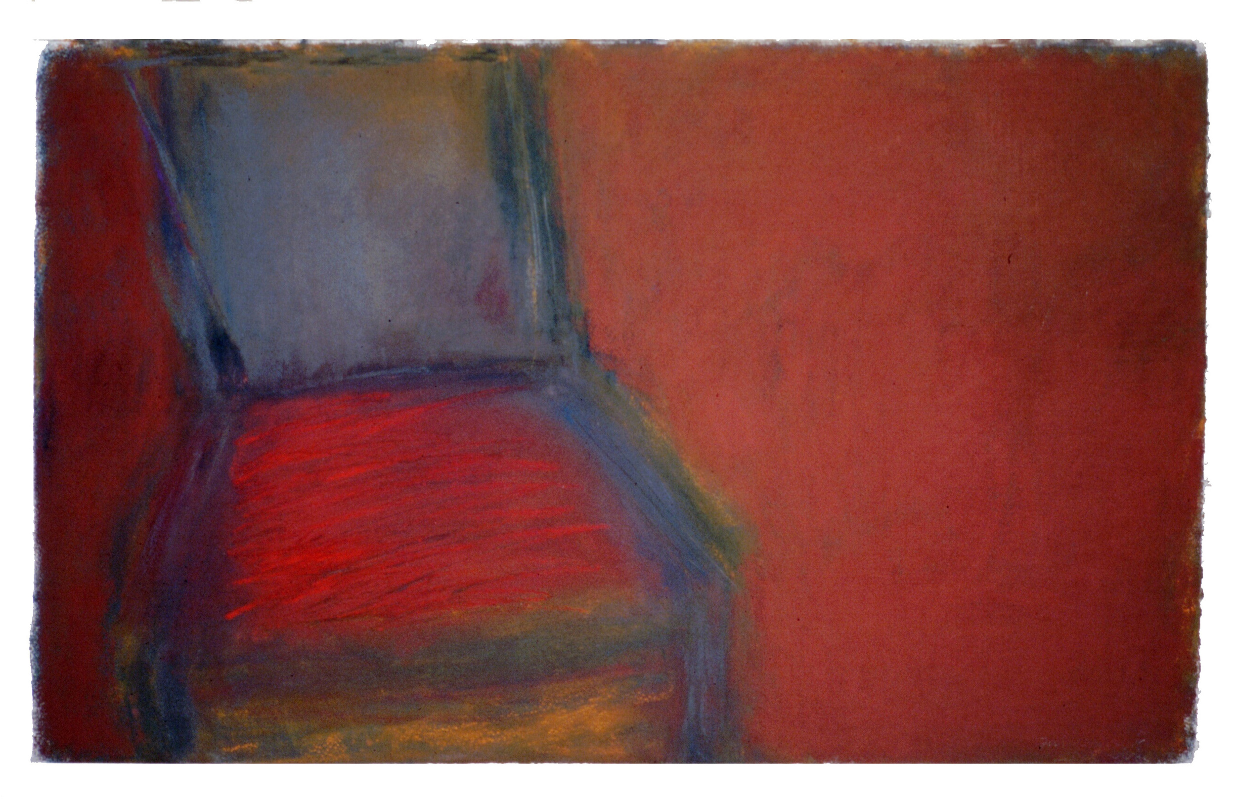 "Chair 5  24"" x 40.5"" Pastel on paper 2001"