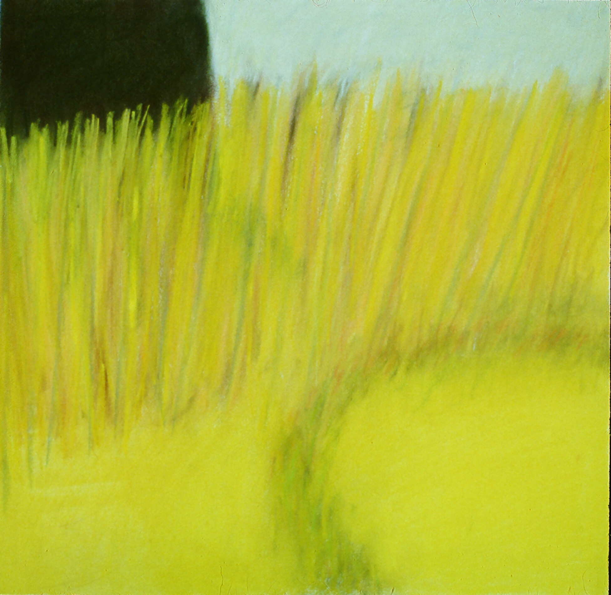 "Travels in the South of France 15  16.5"" x 17"" Pastel on paper 1991"