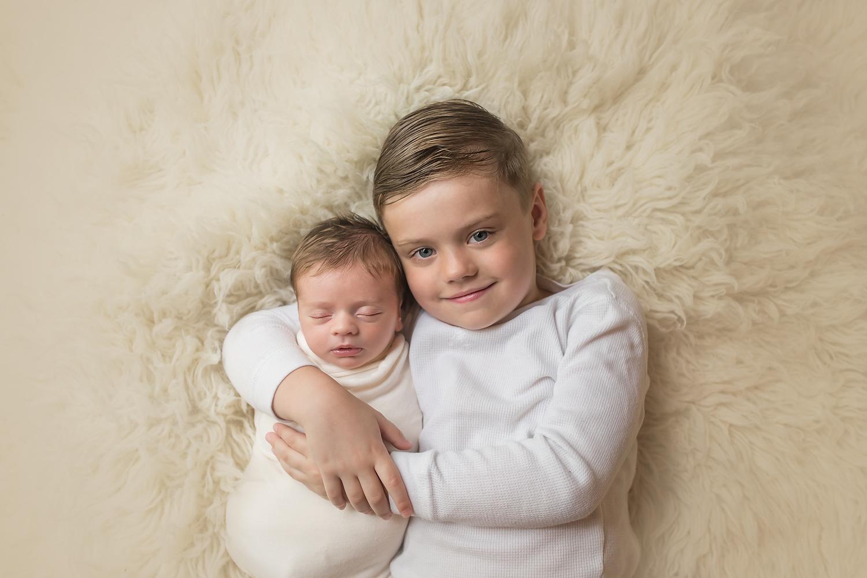 Baltimore Maryland Newborn Baby Photographer brothers