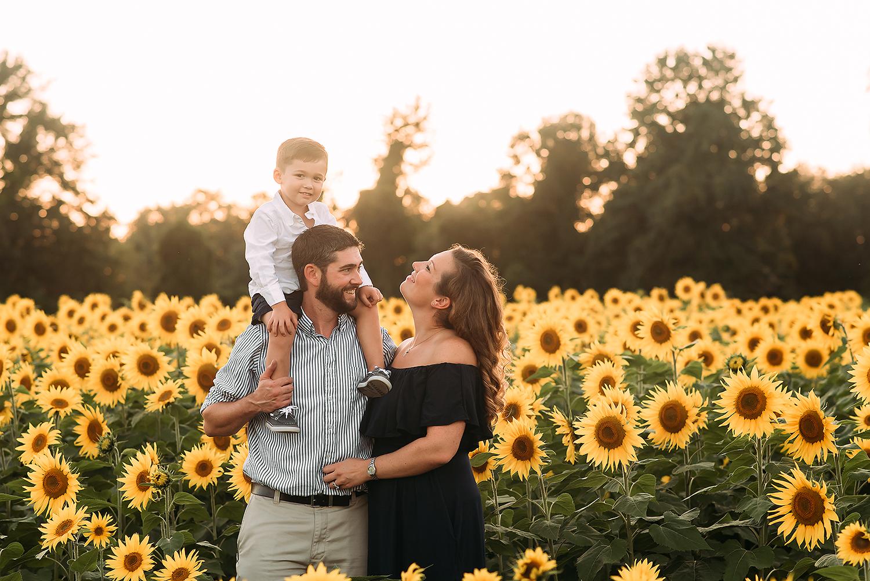 Baltimore Maryland Family Photography sunflowers The Sunflower Garden Jarretsville Jessica Fenfert