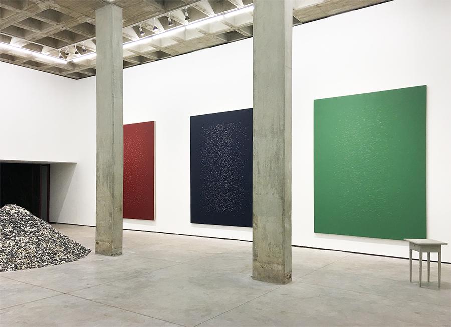 Ventana poniente  , Vista de la exposición en la galería OMR, Ciudad de México /  West Window  , Exhibition view in OMR Gallery, Mexico City
