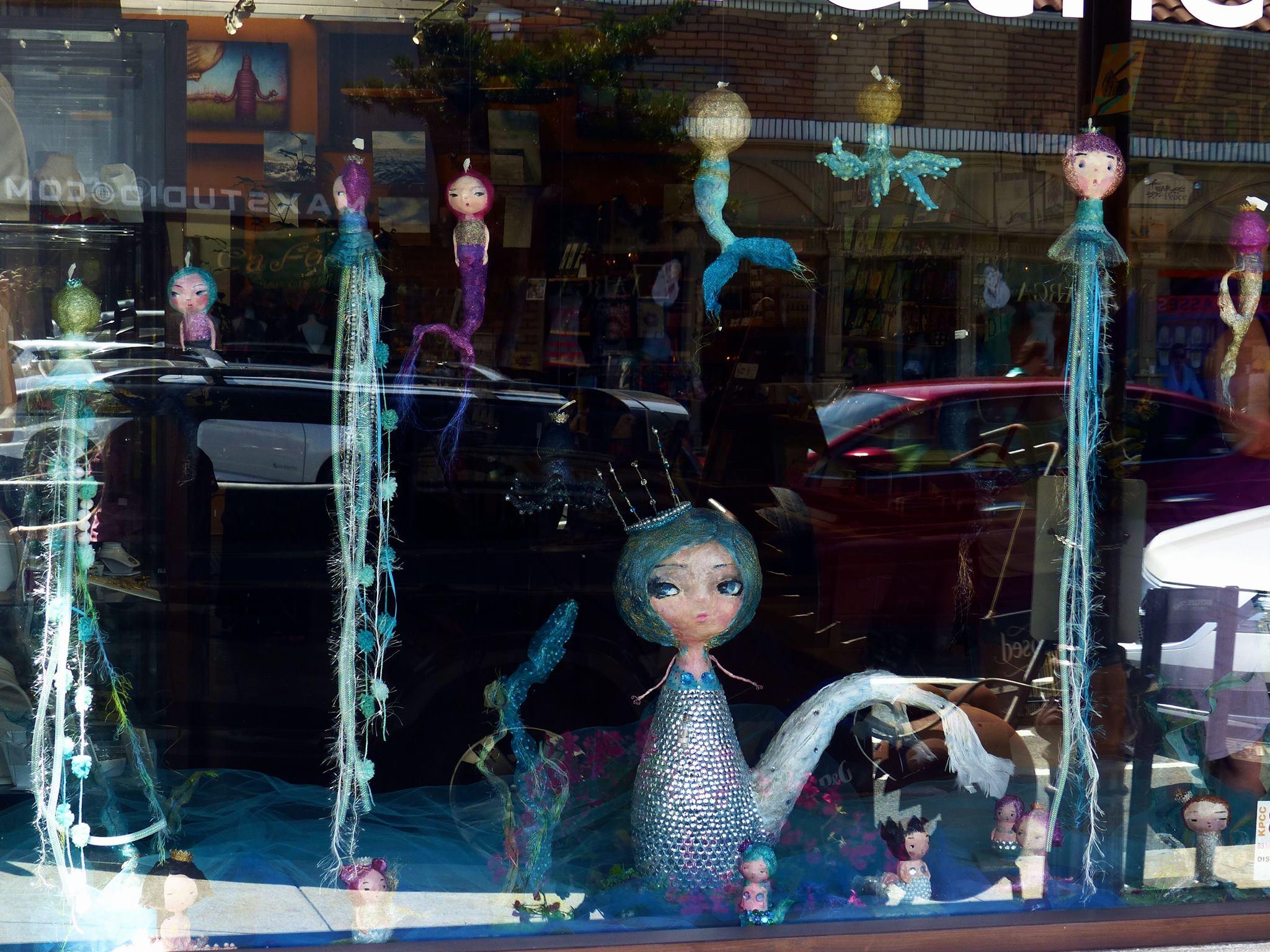Mernaid window for Mindfulnest Santa Monica, CA