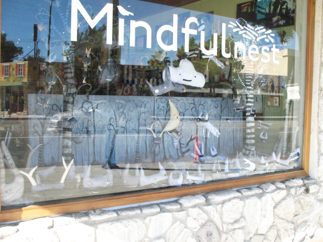 Protecting the Moon window for Mindfulnest Burbank, CA