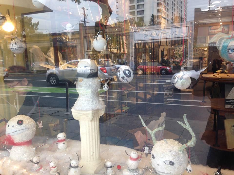 Snowheads window for Mindfulnest Santa Monica, CA