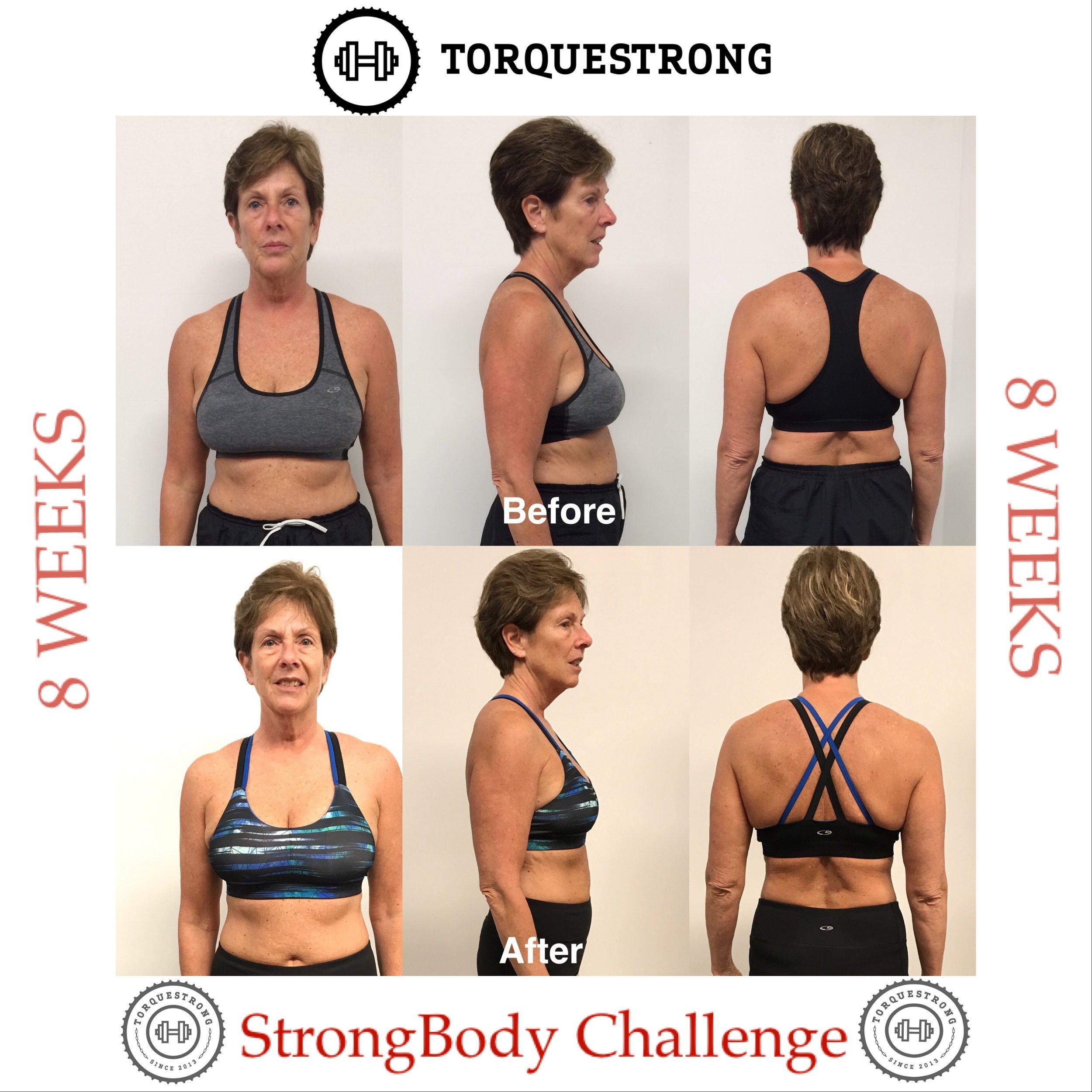 StrongBodyChallenge. Linda. Moore. Lynchburg Va. Personal Training