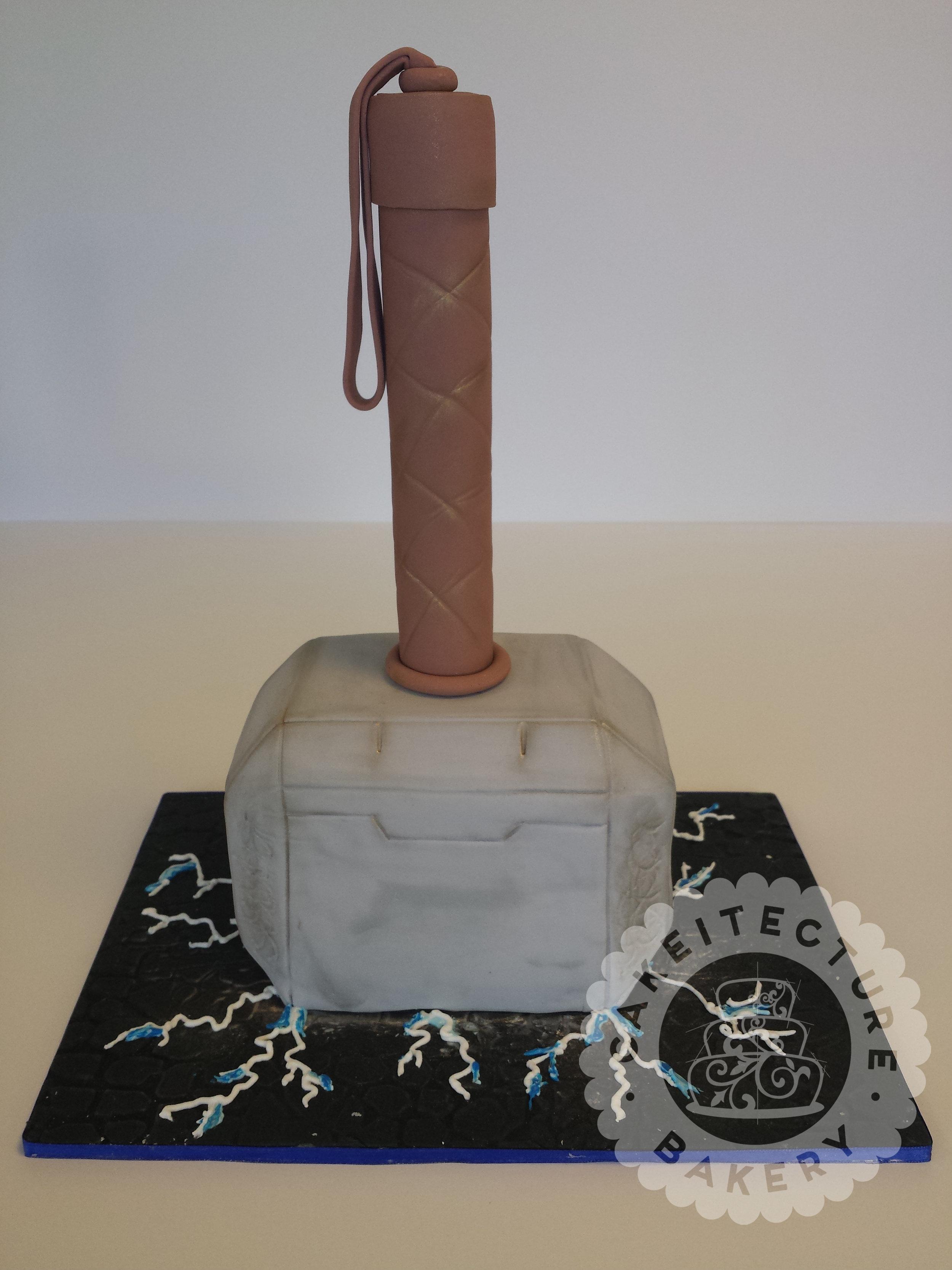 Cakeitecture Bakery mjolnir.jpg