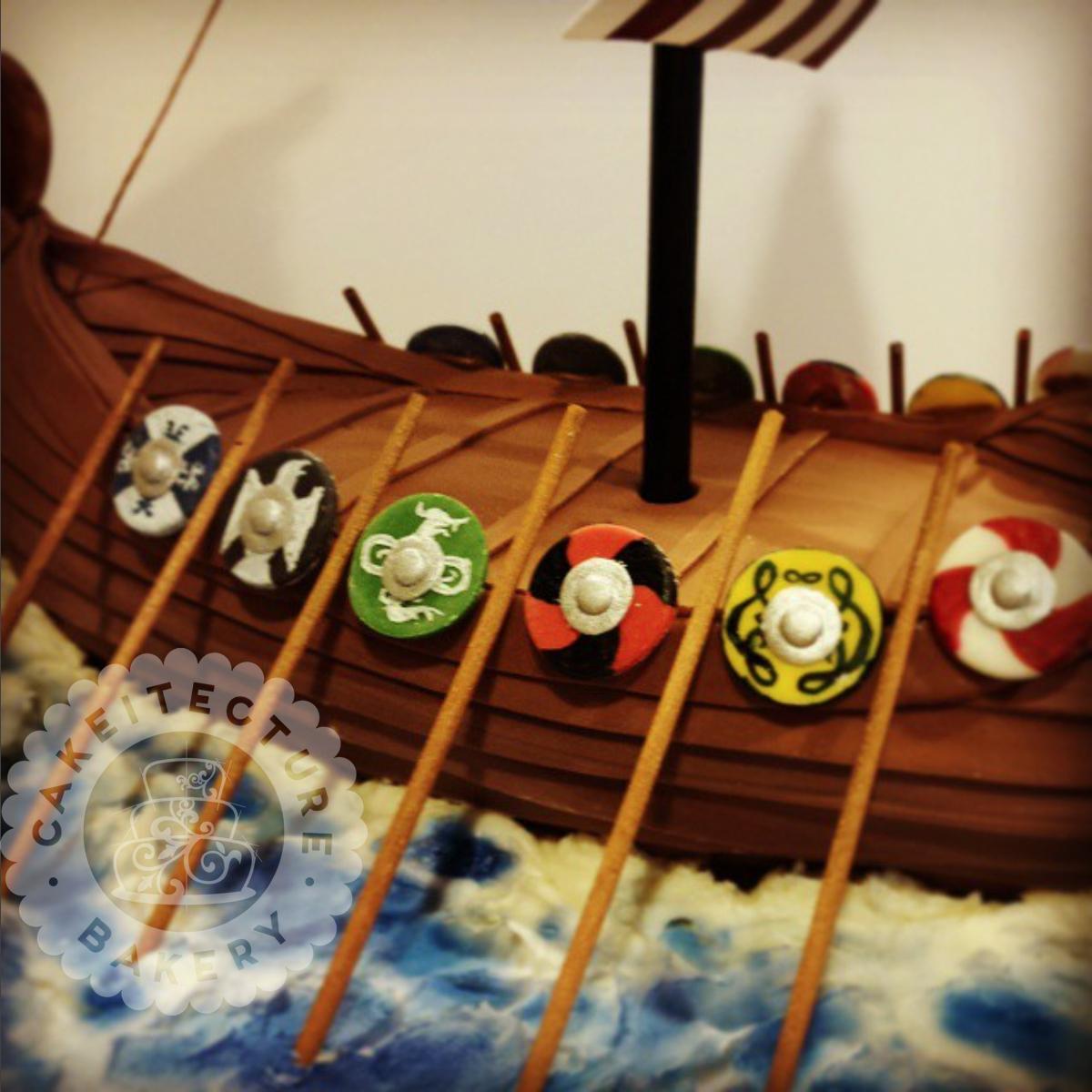 Cakeitecture Bakery viking ship2.jpg
