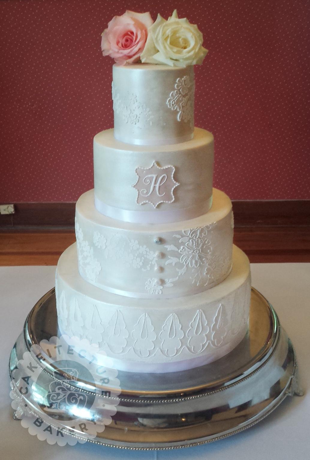 Cakeitecture Bakery White satin Wedding .jpg
