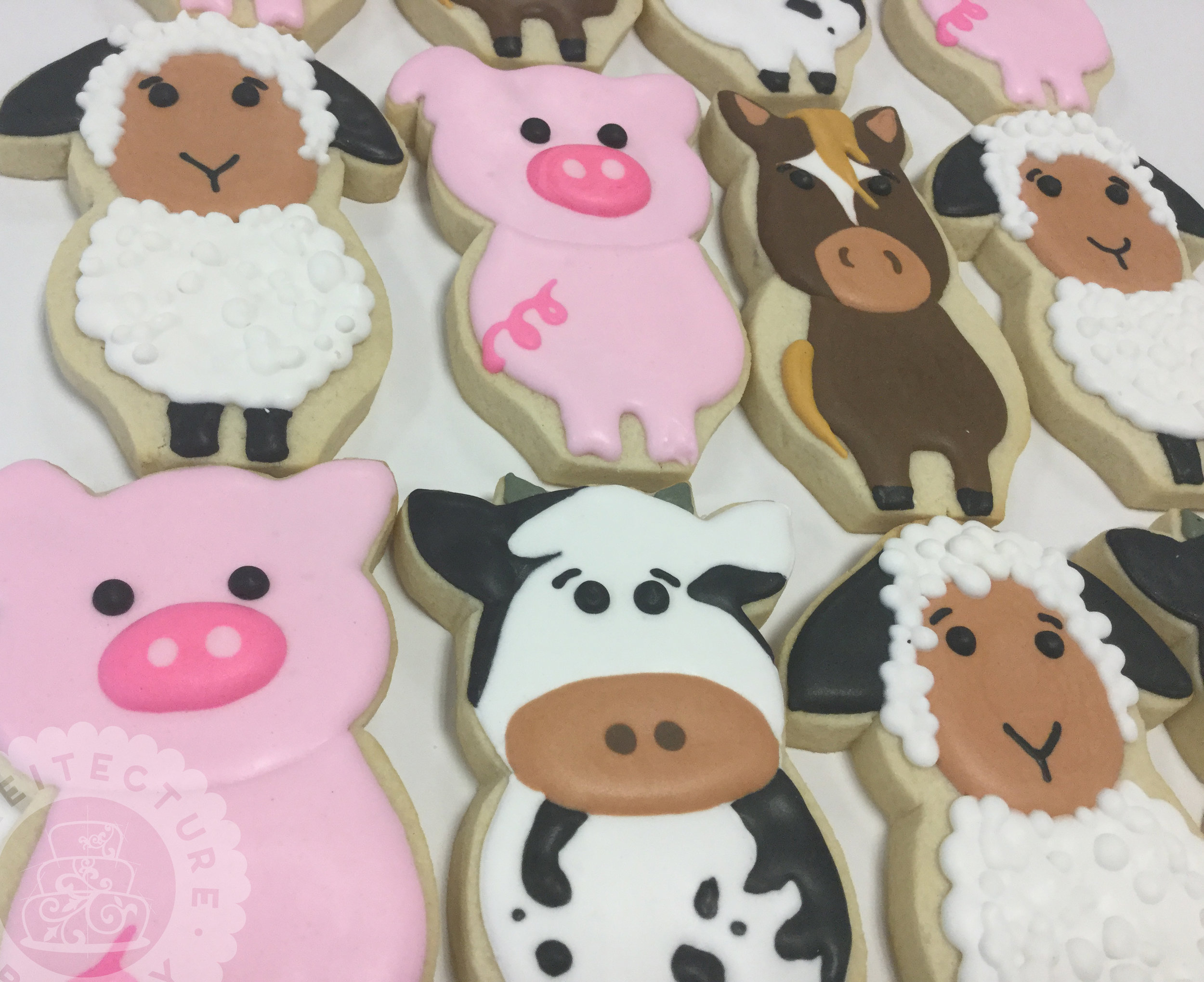 Cakeitecture Bakery 1711 farm animal cookies.jpg