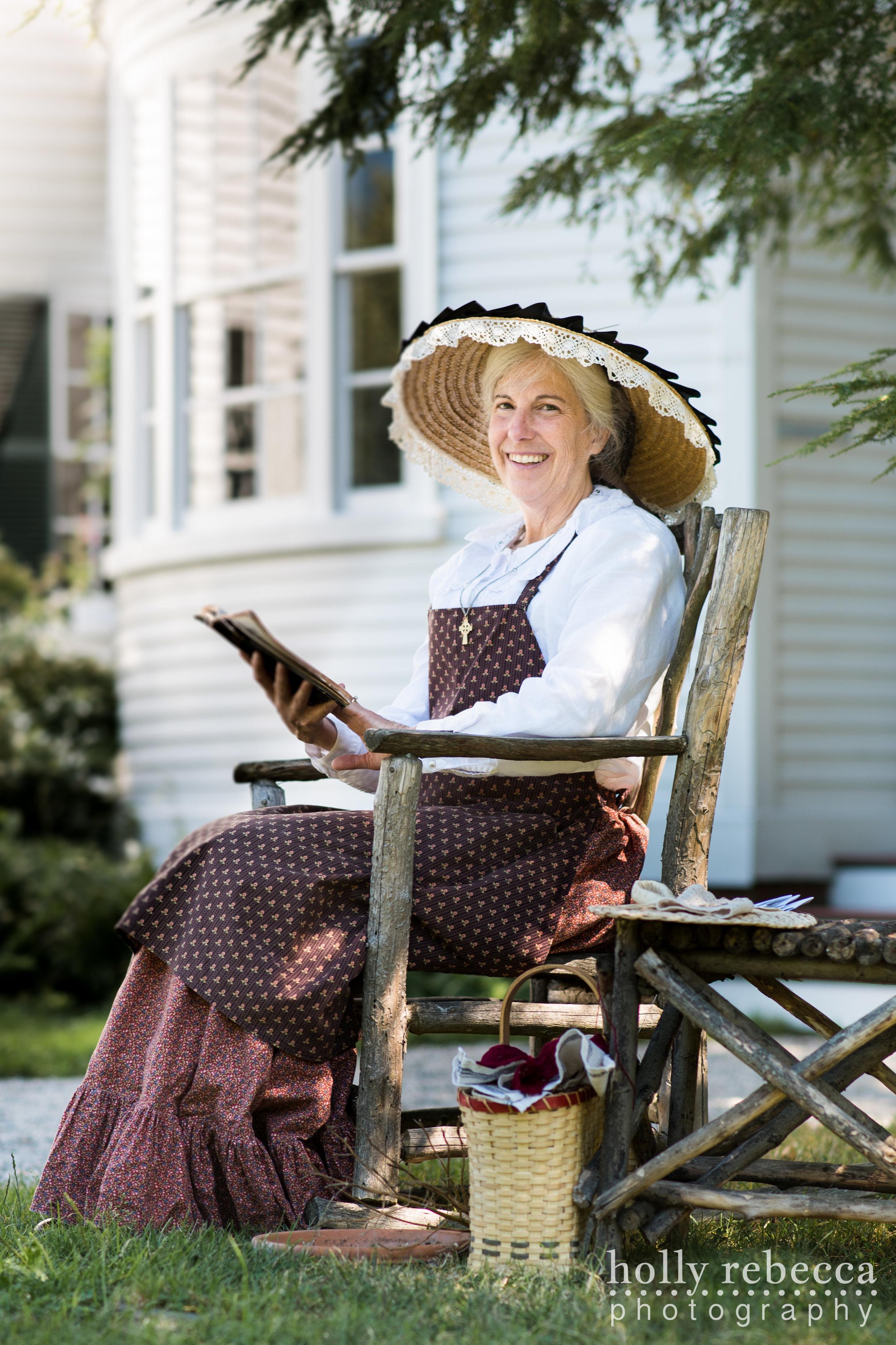 Mrs. Sarah Goodwin - Goodwin Mansion 1870