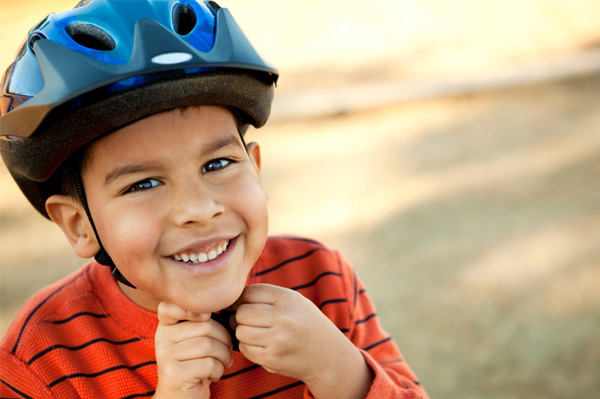 Cyclists will not be allowed to ride without a helmet.