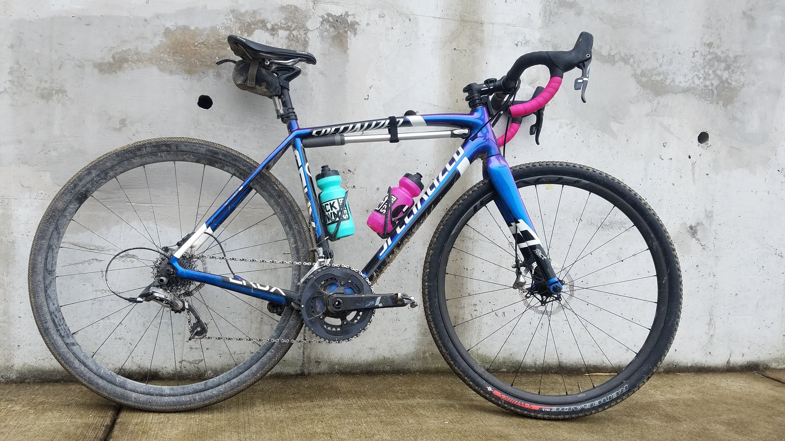 We call this bike the Blueberry