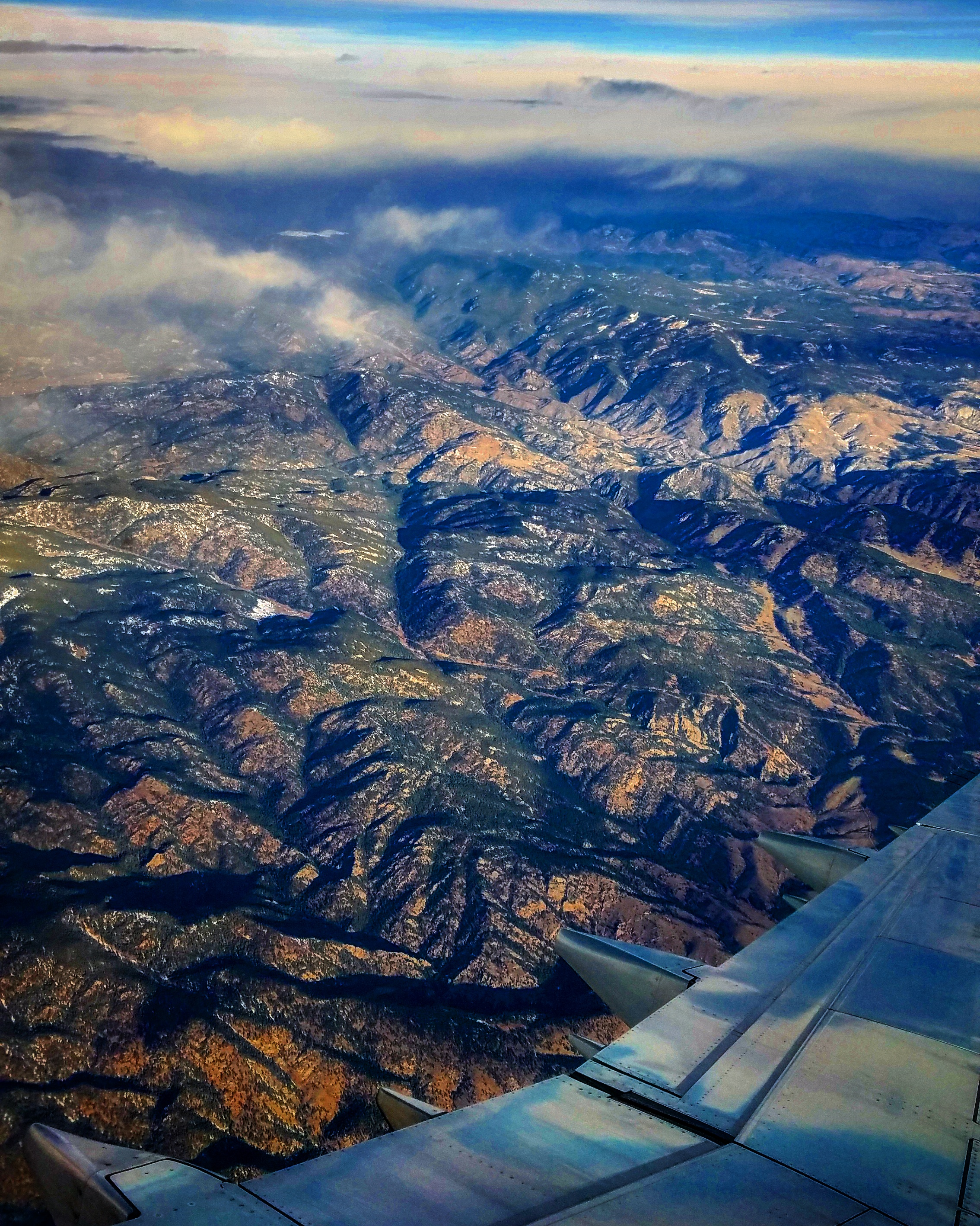 Flying into Denver from Medford, OR