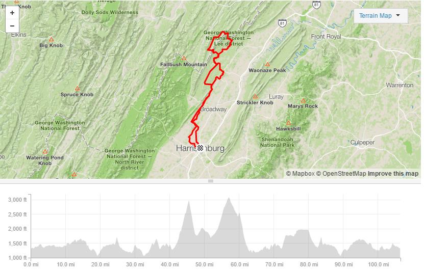 Wild and Wonderhard - 106.4 miles11,085ft elevationGravel