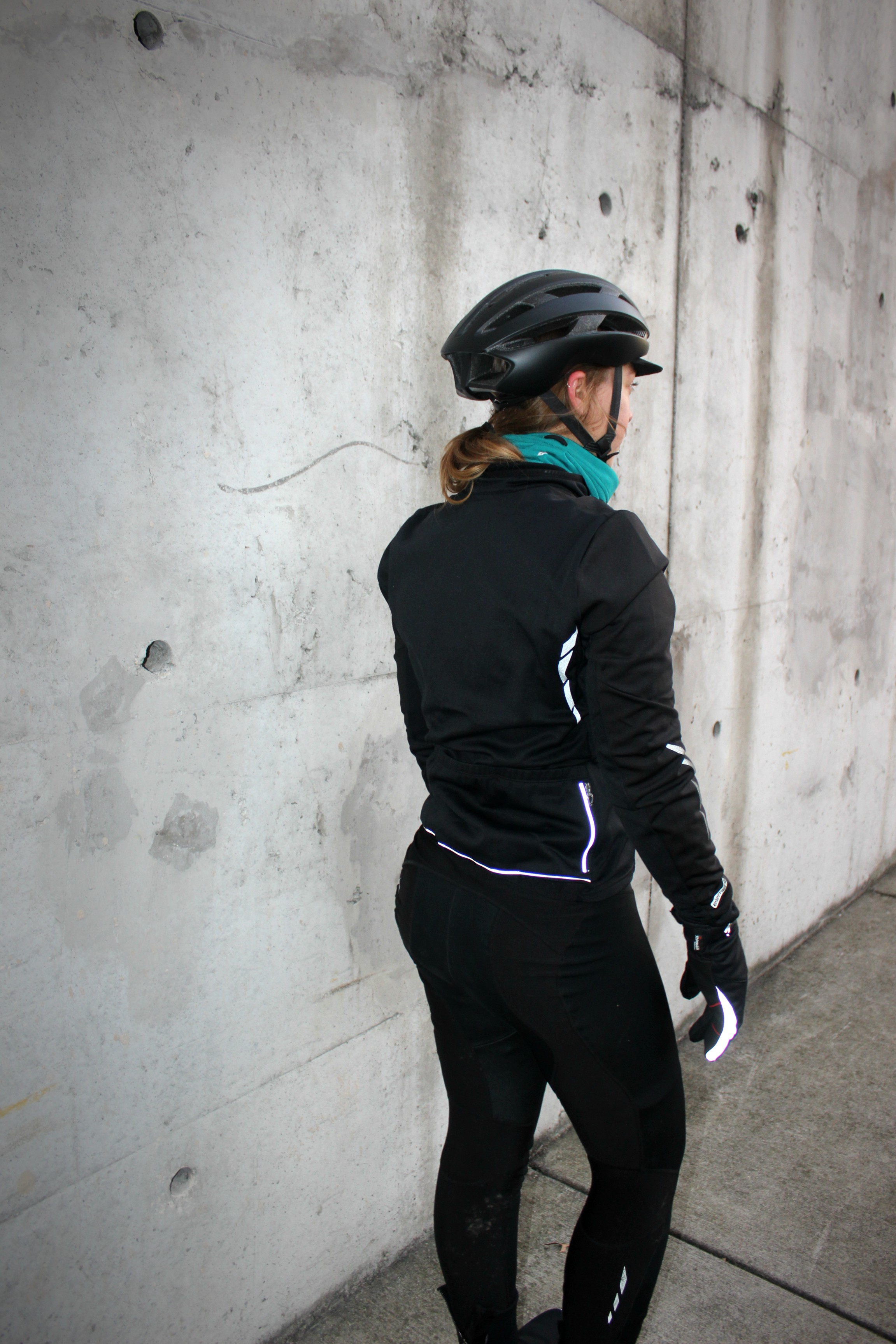 Reflectie accents help you be seen & stay safe!