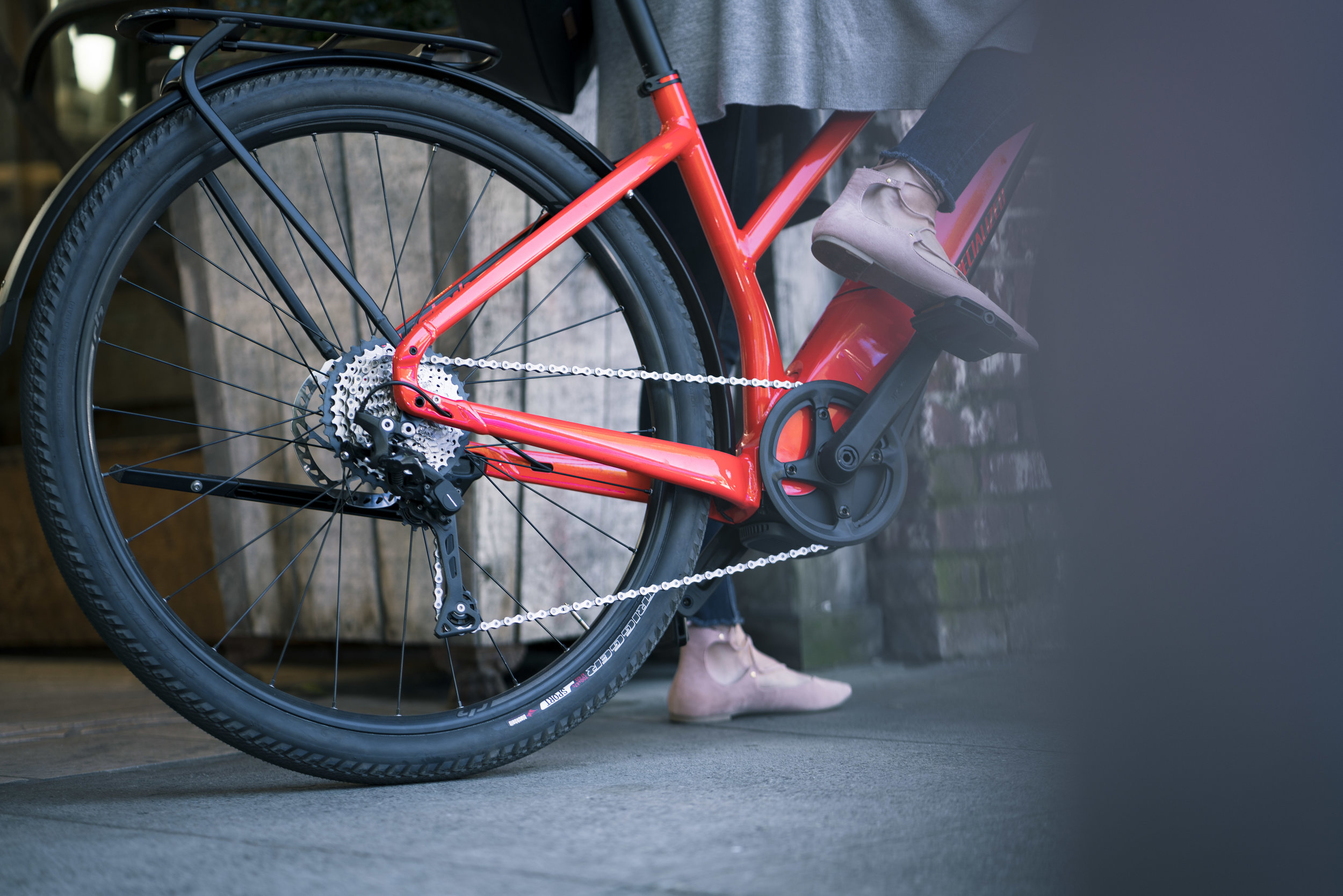 Busy lives call for faster bikes! -